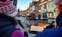 Carolling in Wokingham 2018