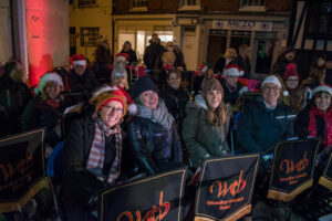 Image of WCB at Henley Christmas Festival